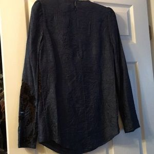 Carven Tops - Carven Blue sequined Blouse